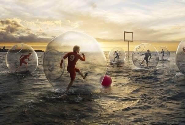 Waterball or Water Zorb Ball